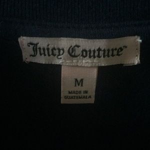 Juicy Couture Tops - NWOT Juicy Couture Navy Blue V Neck T Shirt M